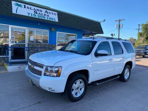 2011 Chevrolet Tahoe for sale at Island Auto Sales in Colorado Springs CO