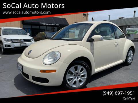 2008 Volkswagen New Beetle for sale at SoCal Auto Motors in Costa Mesa CA