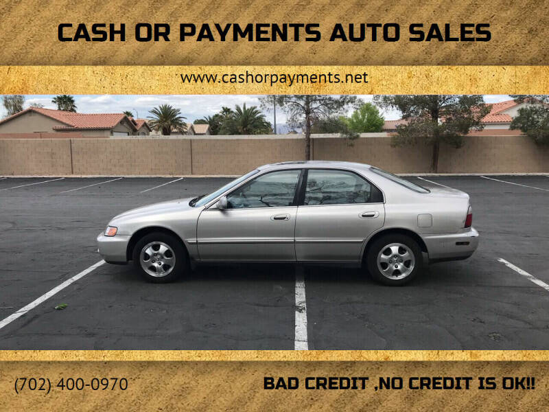 1997 Honda Accord for sale at CASH OR PAYMENTS AUTO SALES in Las Vegas NV