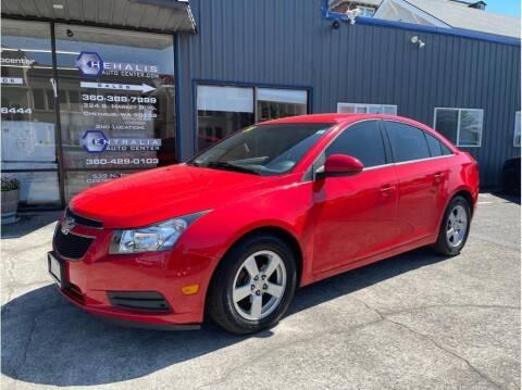 2014 Chevrolet Cruze for sale at Chehalis Auto Center in Chehalis WA