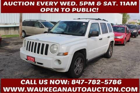 2007 Jeep Patriot for sale at Waukegan Auto Auction in Waukegan IL