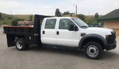 2008 Ford F-450 Super Duty for sale at Central City Auto West in Lewistown MT