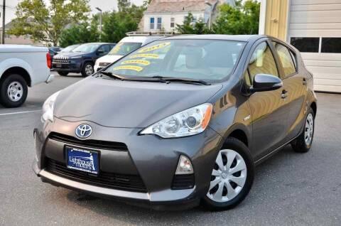 2013 Toyota Prius c for sale at Lighthouse Motors Inc. in Pleasantville NJ
