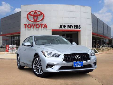 2018 Infiniti Q50 for sale at Joe Myers Toyota PreOwned in Houston TX