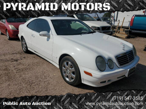 2001 Mercedes-Benz CLK for sale at PYRAMID MOTORS - Fountain Lot in Fountain CO