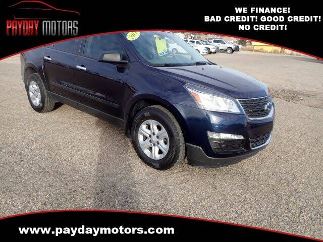 2017 Chevrolet Traverse for sale at Payday Motors in Wichita KS