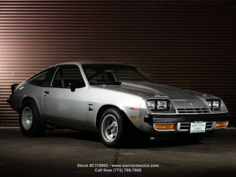 1977 Chevrolet Monza Spyder for sale at Sierra Classics & Imports in Reno NV