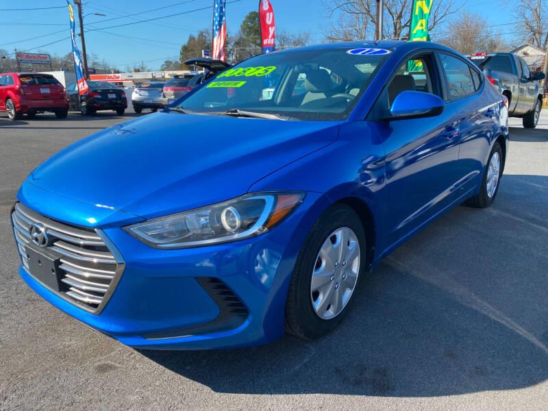 2017 Hyundai Elantra for sale at Cars for Less in Phenix City AL