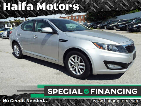 2012 Kia Optima for sale at Haifa Motors in Philadelphia PA
