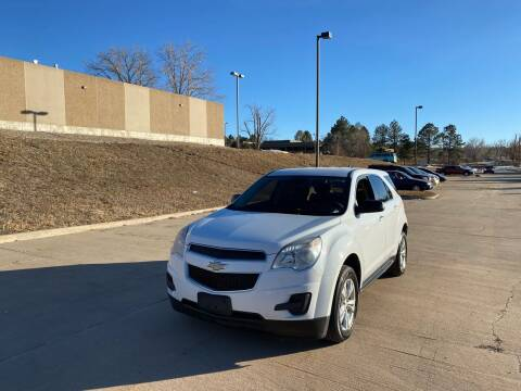 2012 Chevrolet Equinox for sale at QUEST MOTORS in Englewood CO