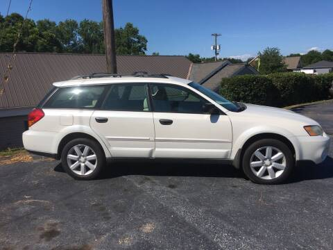 2007 Subaru Outback for sale at STAN EGAN'S AUTO WORLD, INC. in Greer SC