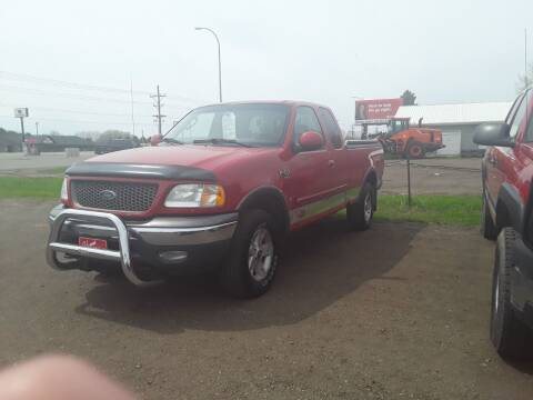 2003 Ford F-150 for sale at BARNES AUTO SALES in Mandan ND