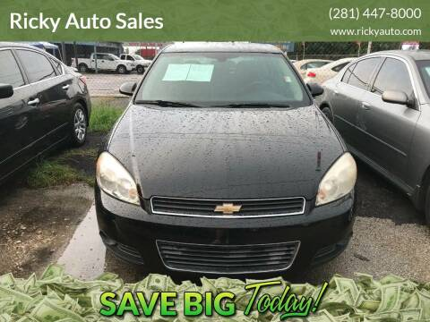 2011 Chevrolet Impala for sale at Ricky Auto Sales in Houston TX