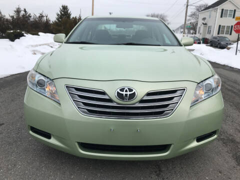 2008 Toyota Camry Hybrid for sale at D'Ambroise Auto Sales in Lowell MA