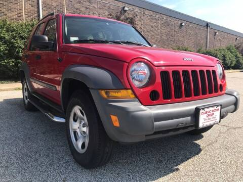2005 Jeep Liberty for sale at Classic Motor Group in Cleveland OH