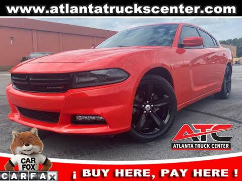 2018 Dodge Charger for sale at ATLANTA TRUCK CENTER LLC in Brookhaven GA