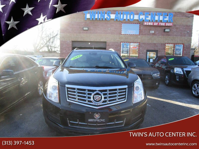 2016 Cadillac SRX for sale at Twin's Auto Center Inc. in Detroit MI