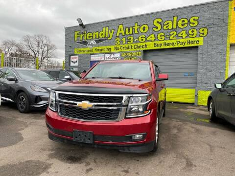 2015 Chevrolet Suburban for sale at Friendly Auto Sales in Detroit MI