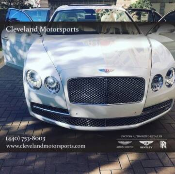 2015 Bentley Flying Spur for sale at Drive Options in North Olmsted OH