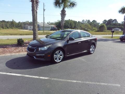2015 Chevrolet Cruze for sale at First Choice Auto Inc in Little River SC
