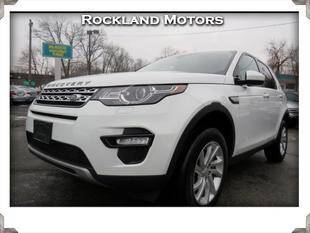 2017 Land Rover Discovery Sport for sale at Rockland Automall - Rockland Motors in West Nyack NY