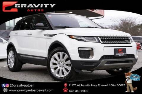 2016 Land Rover Range Rover Evoque for sale at Gravity Autos Roswell in Roswell GA
