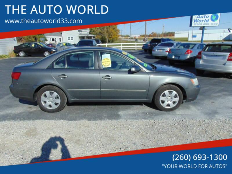2010 Hyundai Sonata for sale at THE AUTO WORLD in Churubusco IN