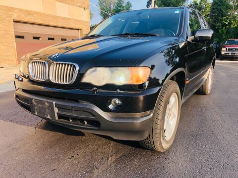 2003 BMW X5 for sale at Quality Auto Sales And Service Inc in Westchester IL