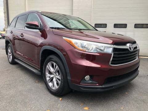 2015 Toyota Highlander for sale at Zimmerman's Automotive in Mechanicsburg PA
