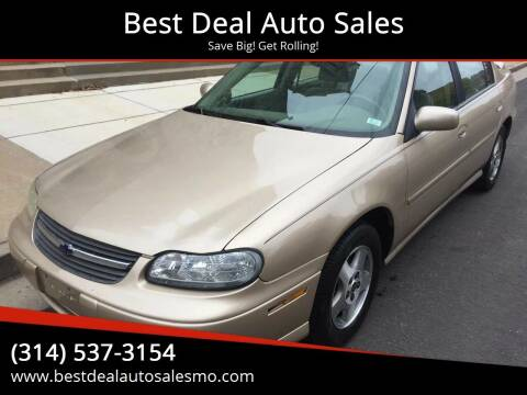 2003 Chevrolet Malibu for sale at Best Deal Auto Sales in Saint Charles MO
