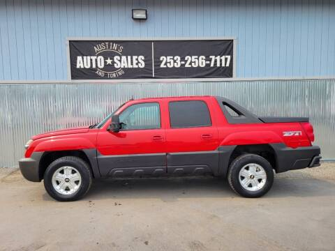 2003 Chevrolet Avalanche for sale at Austin's Auto Sales in Edgewood WA