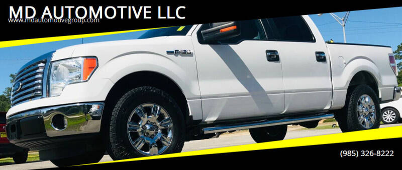 2012 Ford F-150 for sale at MD AUTOMOTIVE LLC in Slidell LA