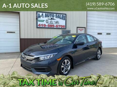 2018 Honda Civic for sale at A-1 AUTO SALES in Mansfield OH