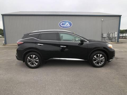 2017 Nissan Murano for sale at Team Hall at City Auto in Murfreesboro TN