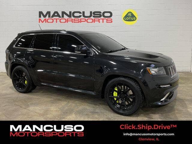 2012 Jeep Grand Cherokee for sale at Mancuso Motorsports in Glenview IL