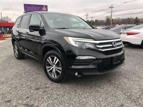 2016 Honda Pilot for sale at Mass Motors LLC in Worcester MA