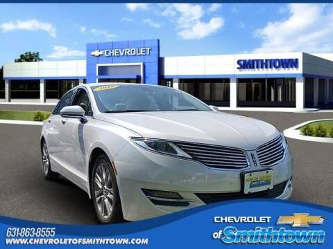 2016 Lincoln MKZ for sale at CHEVROLET OF SMITHTOWN in Saint James NY