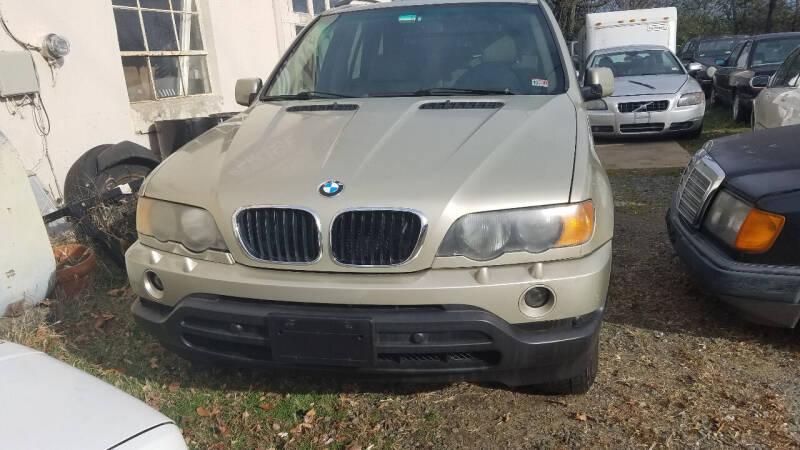 2002 BMW X5 for sale at PRESTIGE MOTORS in Fredericksburg VA