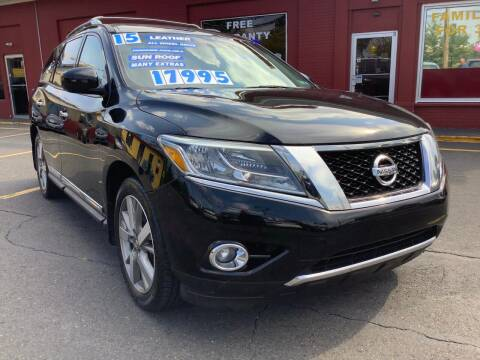 2015 Nissan Pathfinder for sale at Active Auto Sales in Hatboro PA