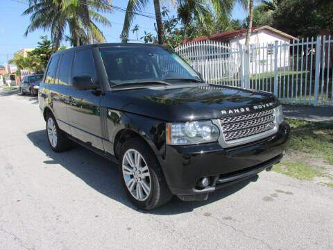 2010 Land Rover Range Rover for sale at TROPICAL MOTOR CARS INC in Miami FL