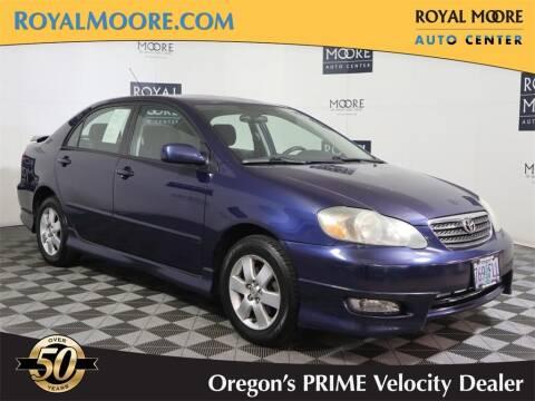 2006 Toyota Corolla for sale at Royal Moore Custom Finance in Hillsboro OR