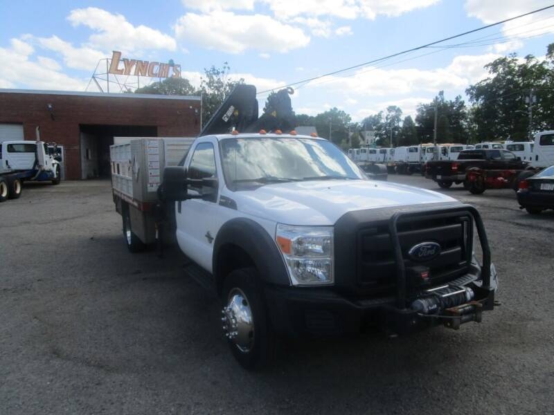 2014 Ford F550 Knuckleboom for sale at Lynch's Auto - Cycle - Truck Center - Trucks and Equipment in Brockton MA