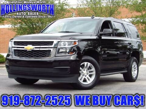 2019 Chevrolet Tahoe for sale at Hollingsworth Auto Sales in Raleigh NC