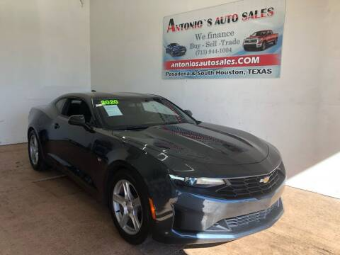 2020 Chevrolet Camaro for sale at Antonio's Auto Sales in South Houston TX