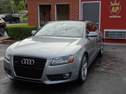 2010 Audi A5 for sale at AP Automotive in Cary NC