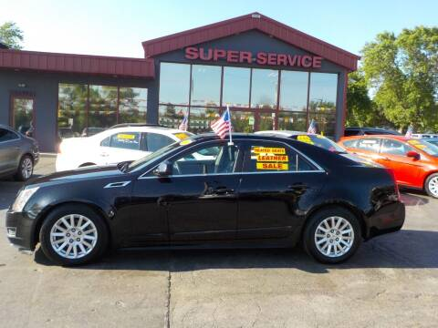2011 Cadillac CTS for sale at Super Service Used Cars in Milwaukee WI