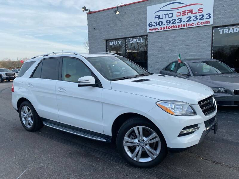 2014 Mercedes-Benz M-Class for sale at Auto Deals in Roselle IL