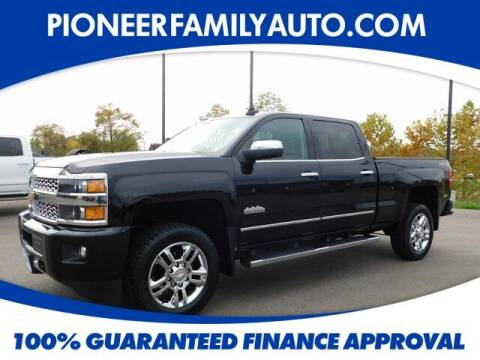 2016 Chevrolet Silverado 2500HD for sale at Pioneer Family Preowned Autos in Williamstown WV