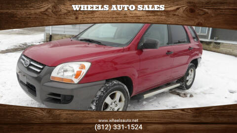 2008 Kia Sportage for sale at Wheels Auto Sales in Bloomington IN
