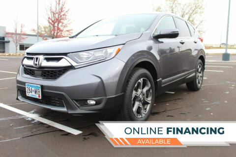 2017 Honda CR-V for sale at K & L Auto Sales in Saint Paul MN